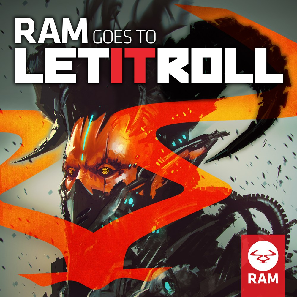 RAM Goes To Let It Roll artwork