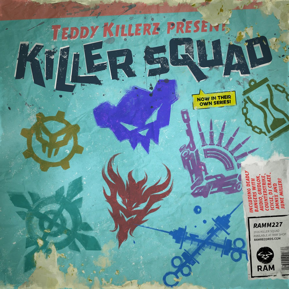 Killer Squad EP artwork