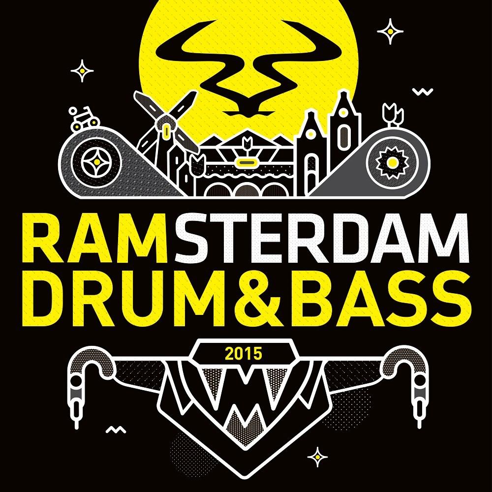RAM Drum & Bass Amsterdam 2015 artwork