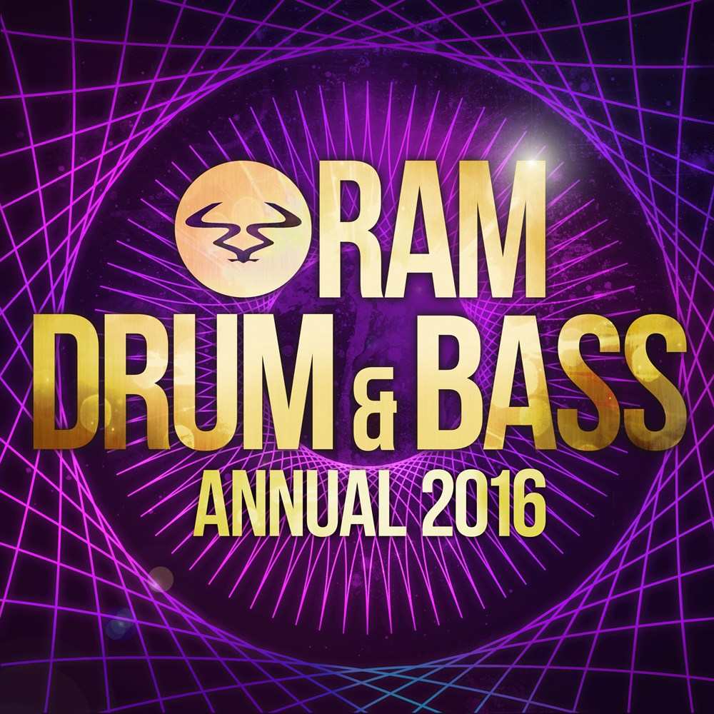 RAM Drum & Bass Annual 2016 artwork