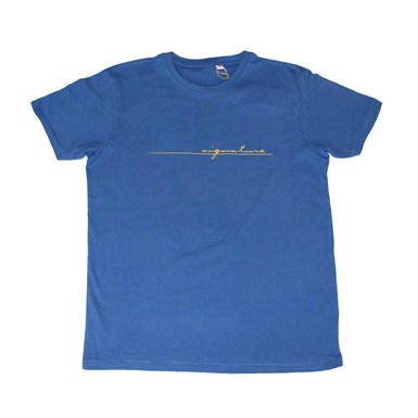 Official Signature Logo Tee [Blue] artwork