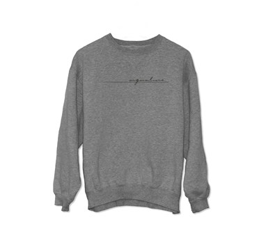 Signature Recordings Logo Sweatshirt [Heather Grey] artwork