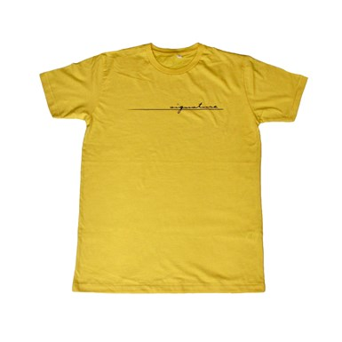 Official Signature Logo Tee [Yellow] artwork