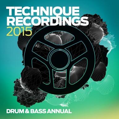 Technique 2015 - Drum & Bass Annual artwork