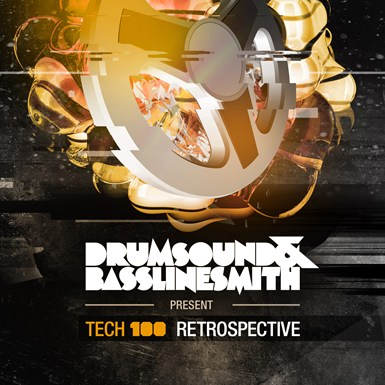Drumsound & Bassline Smith Presents TECH 100 Retrospective LP artwork