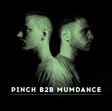 Pinch B2B Mumdance artwork