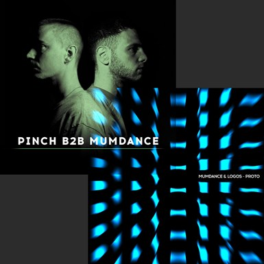 Mumdance & Logos 'Proto' + 'Pinch B2B Mumdance' CD Bundle artwork